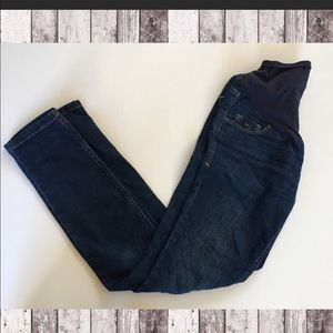 2 pairs old navy maternity jeans!